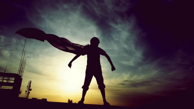 Superhero Silhouette 01
