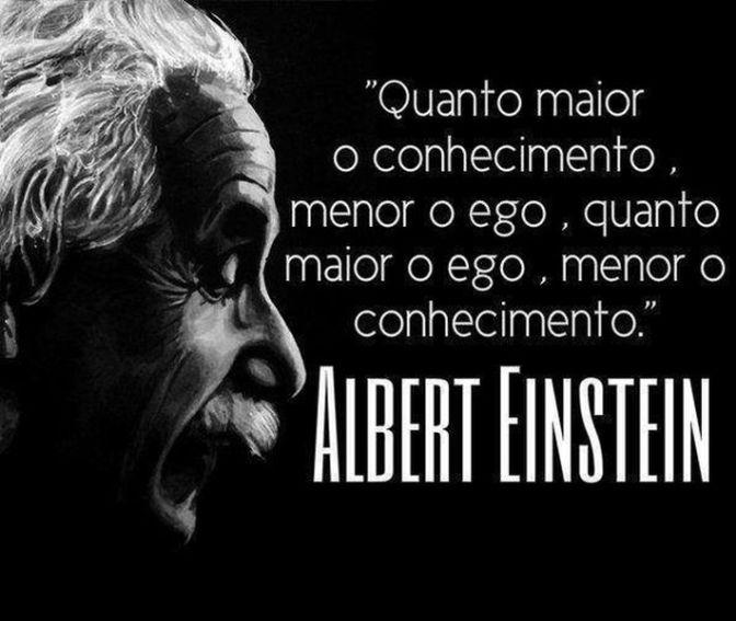 Frases - Conhecimento - Albert Einstein 02