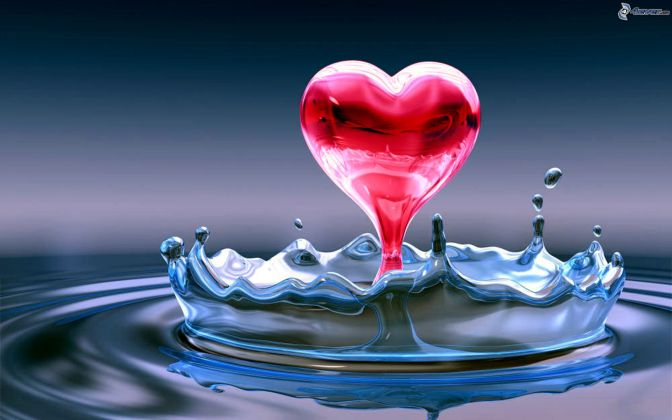 heart of the water